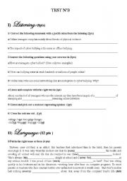 Printables Cyber Bullying Worksheets english teaching worksheets bullying test 3 for 4 th year bac pupils with listening tape scripts about cyber level advanced age 14 17 downloads 41