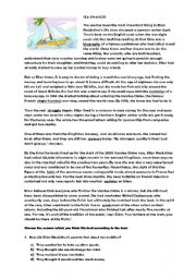 English Worksheets: SEA CHANGES
