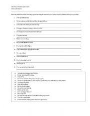 English Worksheets: Newfoundland Expressions