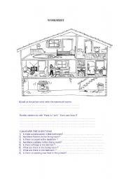 English Worksheet: worksheet for 4th grade students