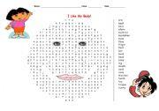 English Worksheets: I like my body