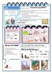 English Worksheet: Up - the movie 3 / 3