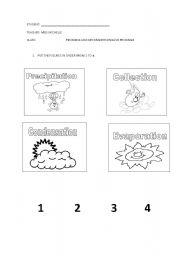 math worksheet : english teaching worksheets water cycle : Water Worksheets For Kindergarten