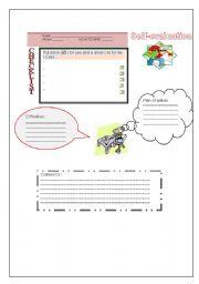 English Worksheet: students self-evaluation