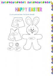 English Worksheet: Easter worksheet- 04 pages