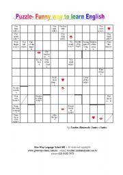 English Worksheets: Puzzle- Human Body