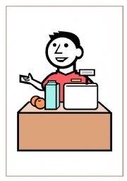 English teaching worksheets: jobs flashcards