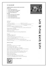 English Worksheets: The Time - The Black Eyed Peas