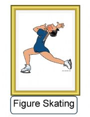 English Worksheet: FLASHCARDS ABOUT SPORTS 1/3