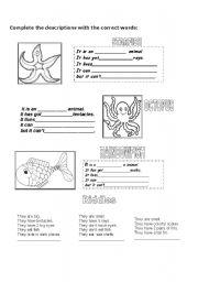 The Rainbow Fish Worksheets Rainbow Fish Writing Printables English Worksheet Rainbow Fish Script And Worksheets