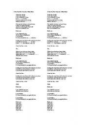 English Worksheets: celine dion song