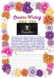English Worksheets: Creative Writing 03