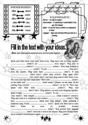 English Worksheets: Wh-questions/writing (fully editable)