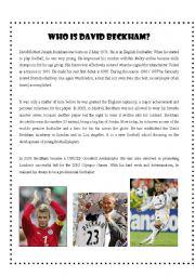 Who is David Beckham