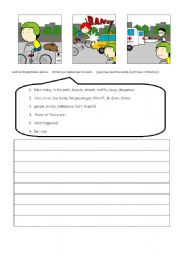 English Worksheets: Accident