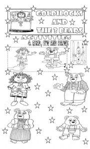 GOLDILOCKS AND THE 3 BEARS/ ACTIVITIES/ PART 3
