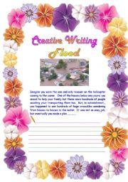 English Worksheets: Creative Writing 08
