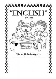 English Worksheets: My English Portfolio 2/2