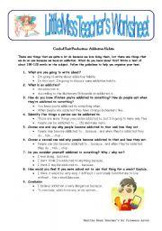 English worksheet: Addictive Habits