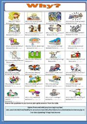 English Worksheets: Why?