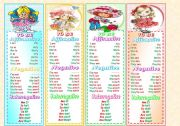 English Worksheet: Bookmarks with present tense of verb To BE.