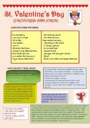 English Worksheet: St. Valentine