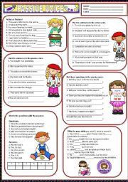 English Worksheet: PASSIVE VOICE