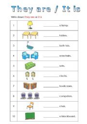English teaching worksheets: Verb to be