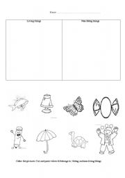 Free nonliving worksheet colouring pages page 2 for Living and nonliving things coloring pages