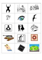 English worksheet: Pair pictures