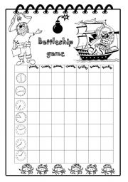 English Worksheet: Time Battleship