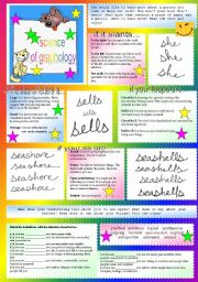 English Worksheet: science of graphology