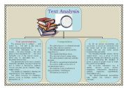 English Worksheets: SCHEME FOR TEXT ANALYSIS