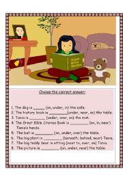 English Worksheets: choose the correct word