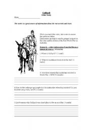 Gallipoli Movie- Questions/ Notes and Chart by equi2338 ...