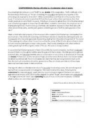 English Worksheets: Illegal Downloading