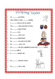 Worksheets Helping Verbs Worksheet esl kids worksheets helping verbs english worksheet verbs