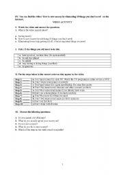 English Worksheets: how to save money by eliminating 10 things you don�t need