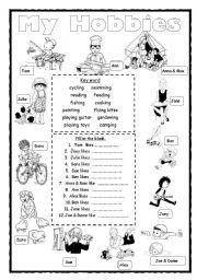 essay on hobbies for kids