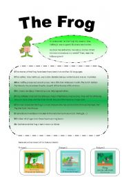 English worksheet: The Frog by MaxVelthuijs