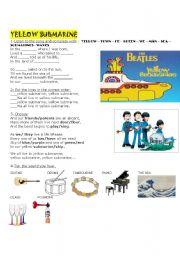 Song Yellow Submarine