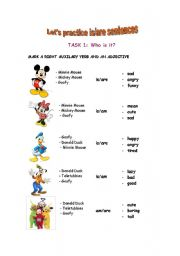 English Worksheets: Who are we?