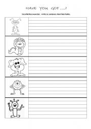 English Worksheets: exam about parts of the body