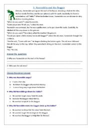 English Worksheet: test fun First Intermediate Memo Dec 2011