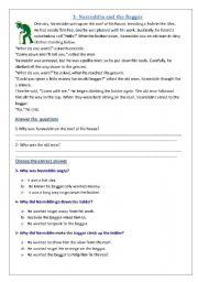 English Worksheets: test fun First Intermediate Memo Dec 2011