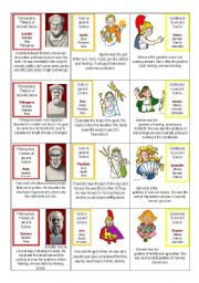 Ancient Greece card game 1/3