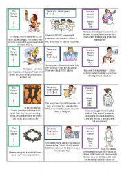 English Worksheet: Ancient Greece card game 2/3