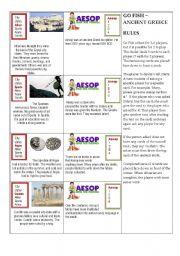 English Worksheet: Ancient Greece card game 3/3