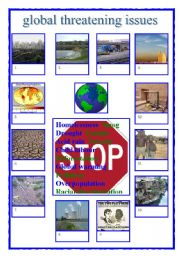Worksheet global threatening issues english worksheet global threatening issues sciox Choice Image