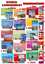 World landmarks (2 pages)